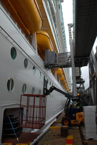 Southampton Cruise Ship